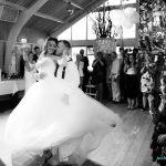 Openingsdans bruiloft Bas en Latifa