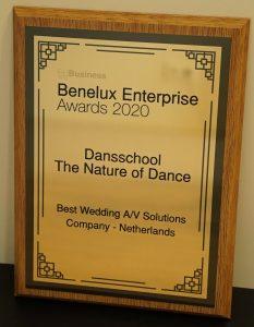 OPENINGSDANS® winnaar Benelux Enterprise Awards 2020